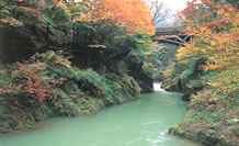Kakusenkei Gorge Kaga City